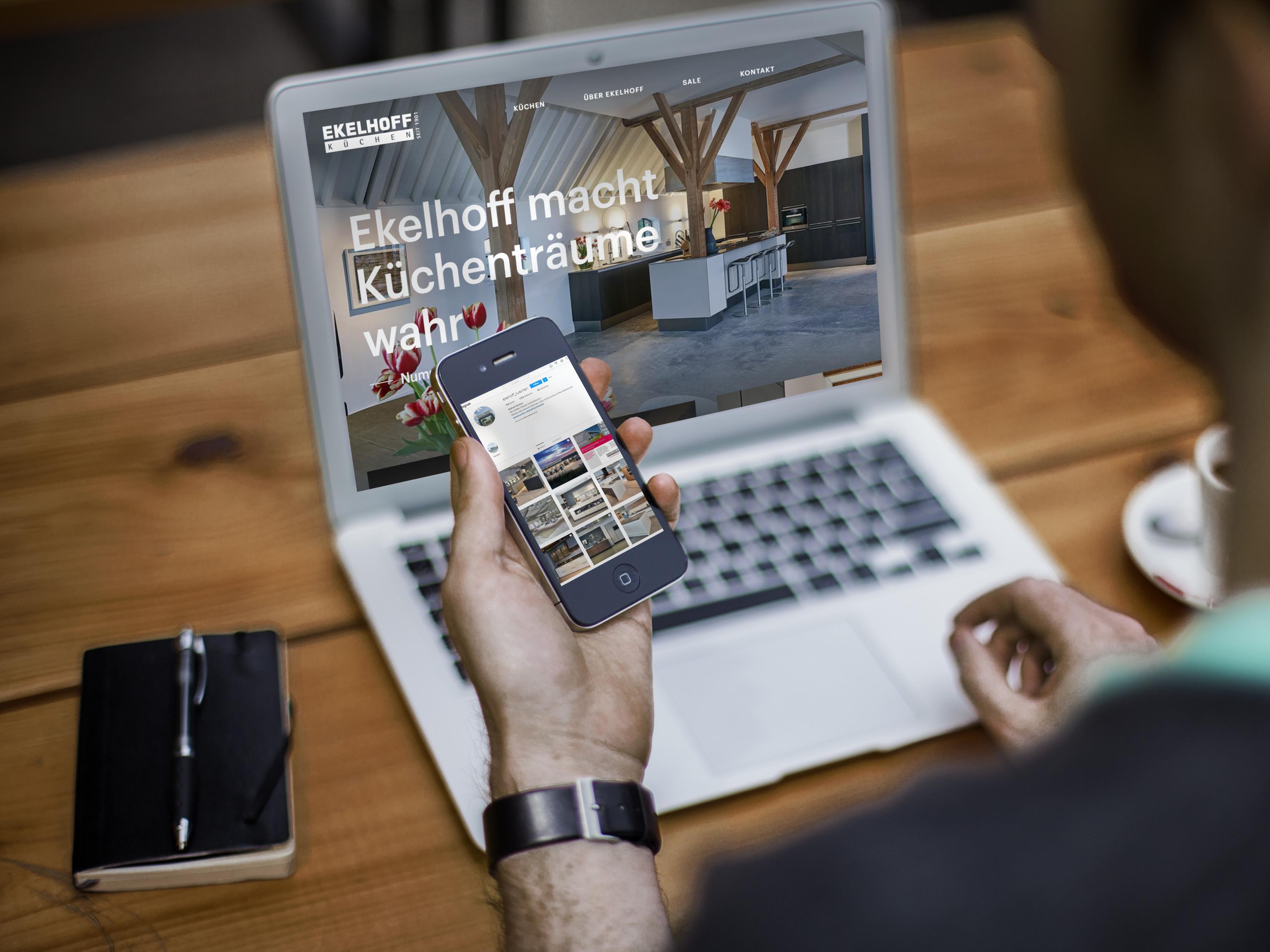 Küchenhaus Ekelhoff - Referenzprojekt